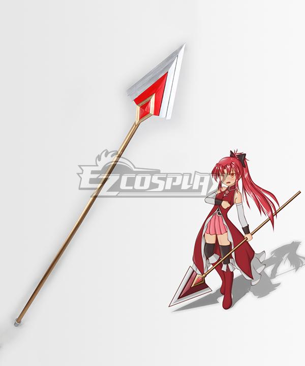 Puella Magi Madoka Magica Sakura Kyouko Sakura Kyoko Spear Cosplay Weapon Prop None