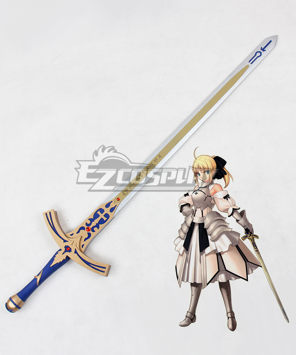 Fate Stay Night Artoria Pendragon Saber Lily Sword Cosplay Weapon Prop None