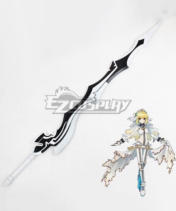 Fate Extra CCC Nero Claudius Caesar Augustus Germanicus Bride Saber Sword Cosplay Weapon Prop