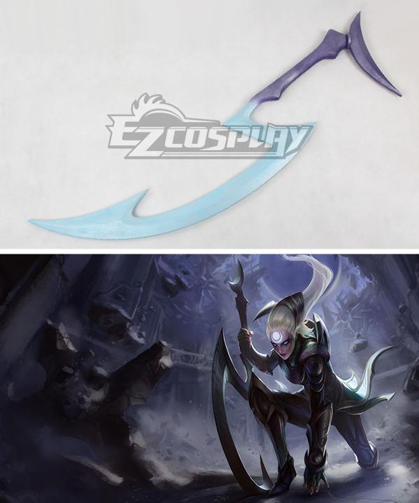 League of Legends Classic Diana Scorn Of The Moon Sword Cosplay Weapon Prop