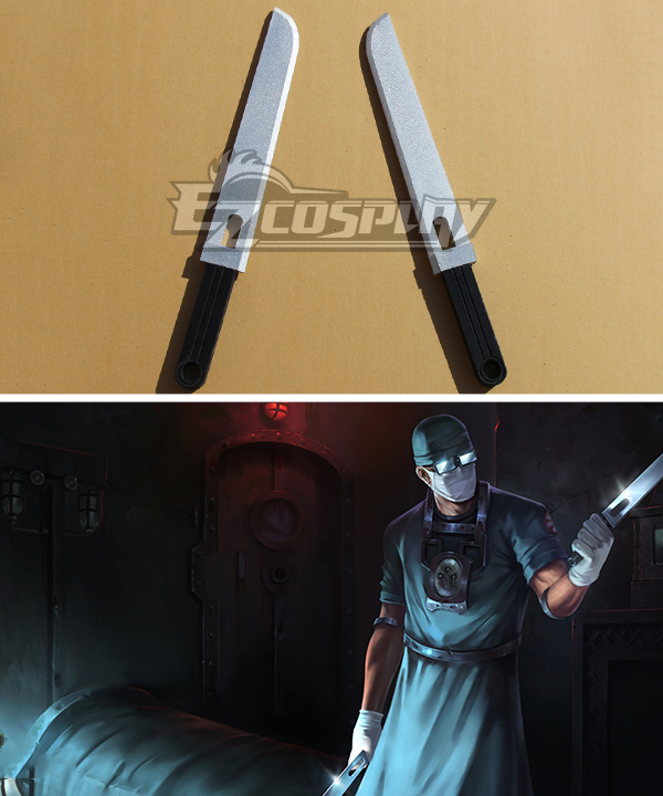 League of Legends Surgeon Shen Eye of Twilight Dagger Cosplay Weapon Prop