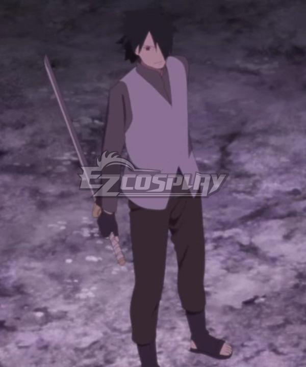 Boruto Naruto the Movie Uchiha Sasuke Sword Cosplay Weapon Prop
