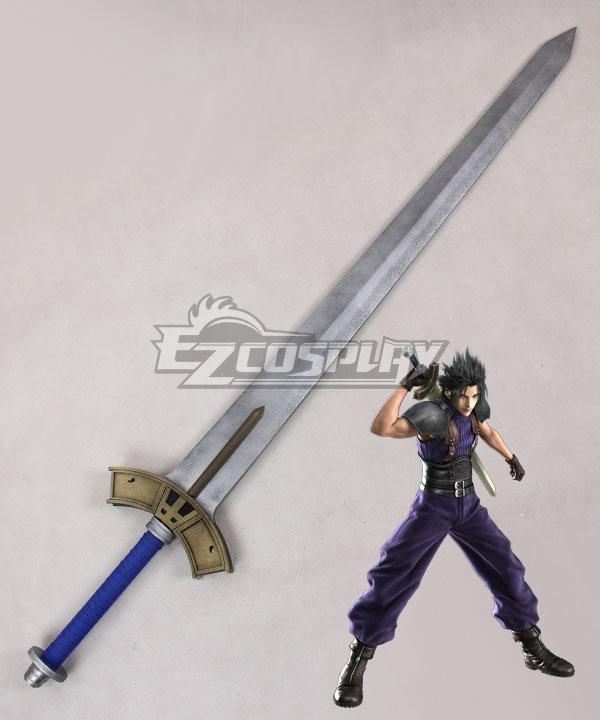Final Fantasy VII Crisis Core FF7 Zacks Fair Sword Cosplay Weapon Prop