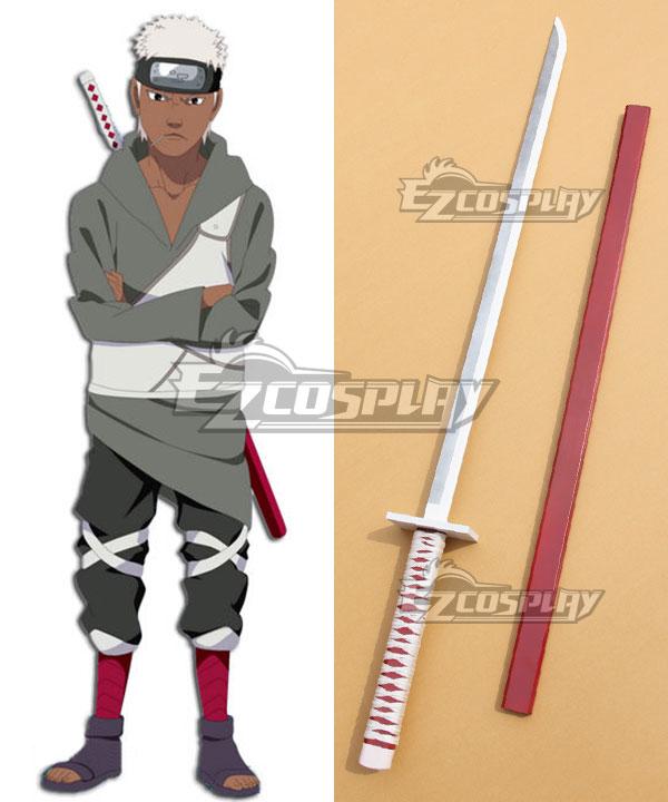 Naruto Kaminari no Kuni Land of Lightning Omoi Sword Cosplay Weapon Prop