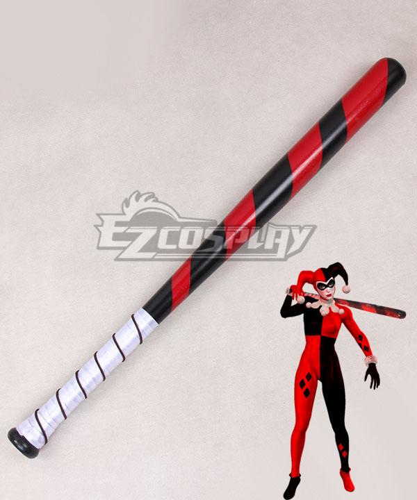 DC Comics Batman Arkham Knight Harley Quinn Baseball pole Cosplay Weapon Prop None