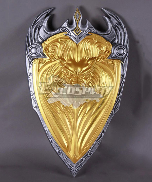 Warcraft The Beginning World of Warcraft WOW King Llane Wrynn I Lion Shield C Cosplay Weapon Prop