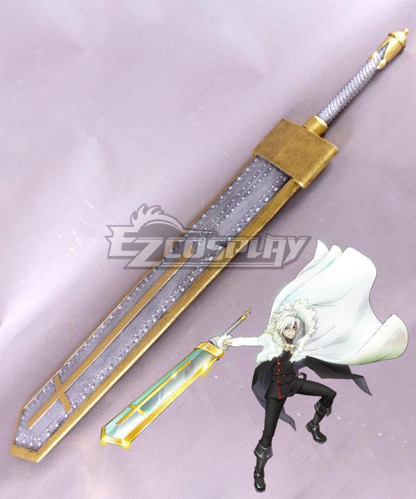 ECW0786 D.Gray-Man Hallow D Gray Man Dgrayman Allen Walker Sword Cosplay Weapon Prop
