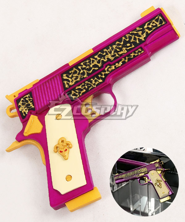 DC Detective Comics Batman Suicide Squad Task Force X Joker 2016 Movie Gun Cosplay Weapon Prop None