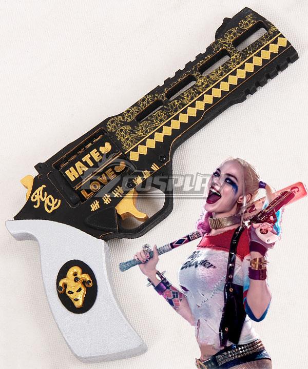 ECW0790 DC Detective Comics Batman Suicide Squad Task Force X Harley Quinn 2016 Movie Gun Cosplay Weapon Prop