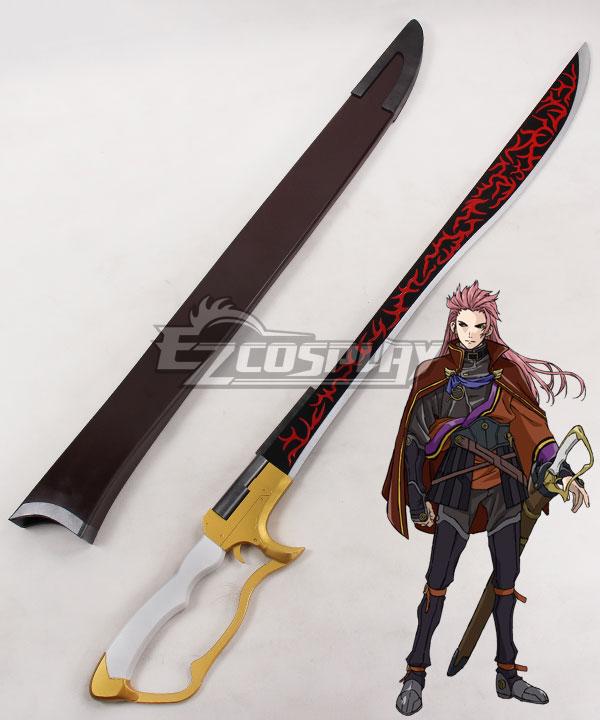 ECW0797 Kabaneri of the Iron Fortress Biba Amatori Sword Cosplay Weapon Prop