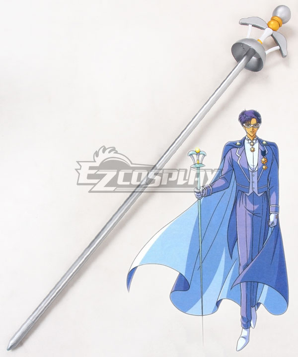 Sailor Moon Mamoru Chiba Tuxedo Mask Staves Cosplay Weapon Prop None