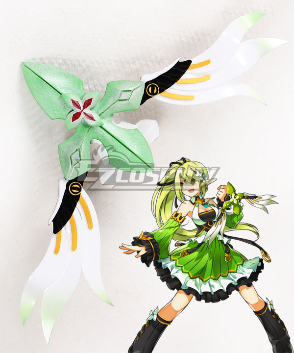 Elsword Wind Sneaker Rena Bow Cosplay Weapon Prop ECW0915