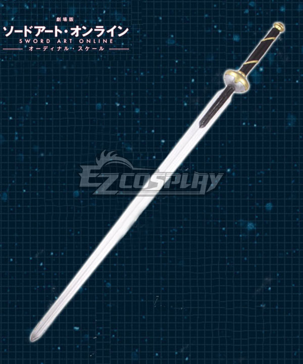 Sword Art Online Ordinal Scale Yuuki Asuna Yuki Asuna Movie Sword Cosplay Weapon Prop None