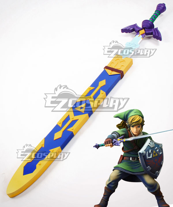 The Legend of Zelda: Skyward Sword Link Sword Scabbard Cosplay Weapon Prop None