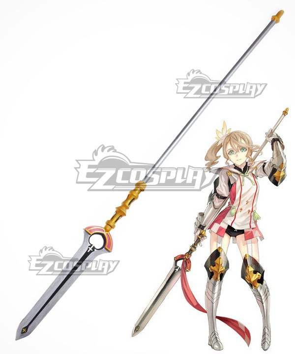 Anime Costumes ECW1113 Tales of Zestiria the X Alisha Spear Cosplay Weapon Prop