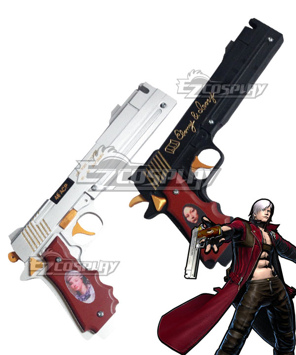 Anime Costumes ECW1130 Devil May Cry Dante Double Gun Cosplay Weapon Prop