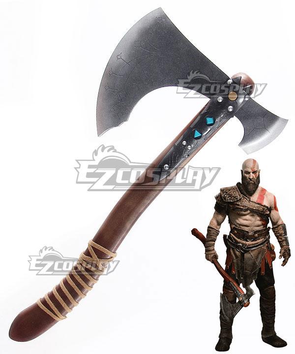 God of War 4 Kratos Axe Cosplay Weapon Prop None