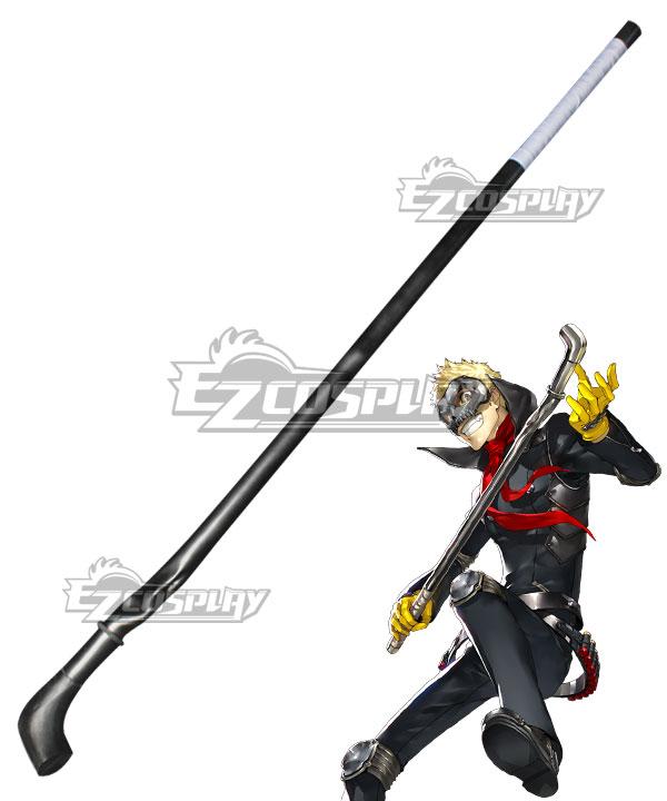 Persona 5 Skull Ryuji Sakamoto Waterpipe Cosplay Weapon Prop