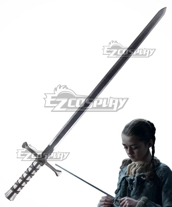 Game of Thrones Arya Stark Needle Sword Cosplay Weapon Prop None
