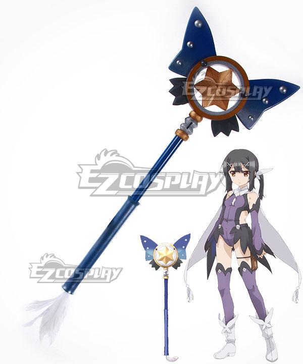 Fate Kaleid Liner Prisma Illya Miyu Edelfelt Magical Sapphire Staves Cosplay Weapon Prop None