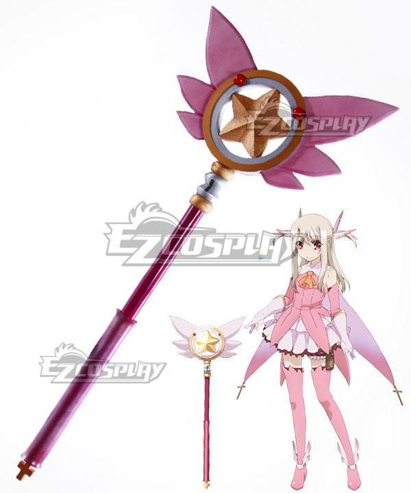Fate Kaleid Liner Prisma Illya Illyasviel von Einzbern Magical Ruby Staves Cosplay Weapon Prop None