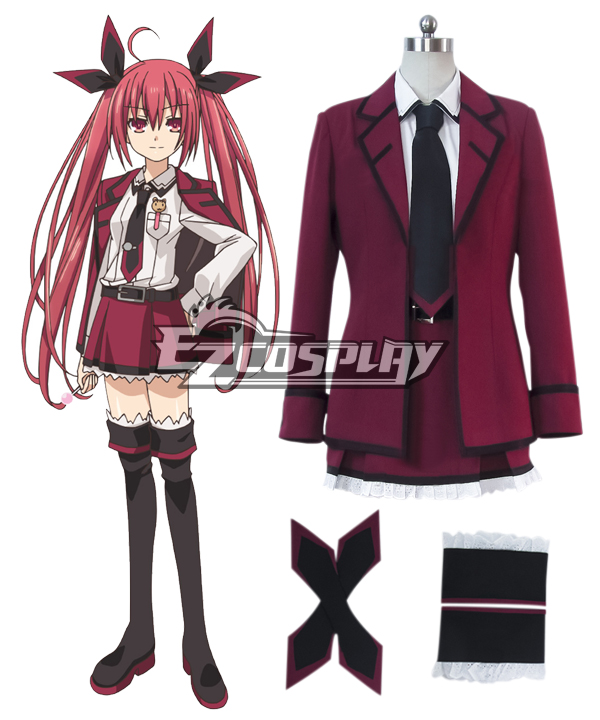Date A Live Itsuka Kotori Efreet Cosplay Costume None