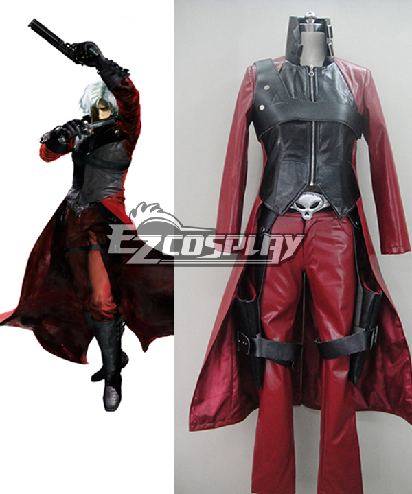 Devil May Cry 4 Dante Cosplay - 2nd Cosplay Costume