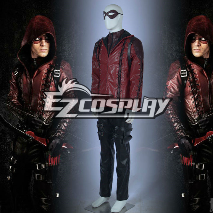 DC Comics Green Arrow Season 3 Roy Harper Red Cosplay Costumes