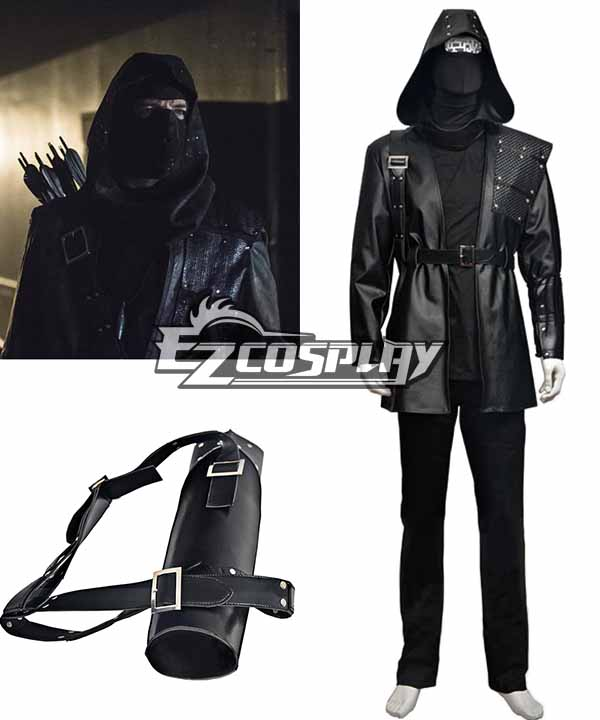 DC Comics Green Arrow Dark Archer Malcolm Merlyn Cosplay Costume None