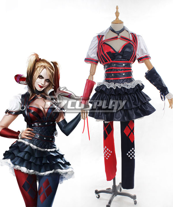 DC Comics Batman: Arkham Knight Asylum City Harley Quinn Cosplay Costume None