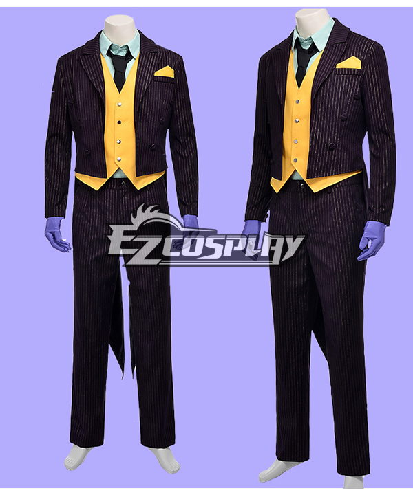 DC Comics Batman Arkham City Joker Cosplay Costume None