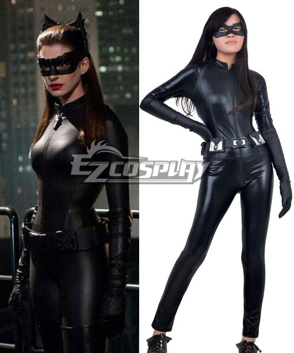 DC Comics Batman The Dark Knight Rises Catwoman Selina Kyle Cosplay Costume None