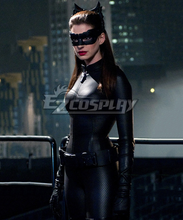 DC Comic Batman The Dark Knight Rise Cat Woman Cosplay Costume None