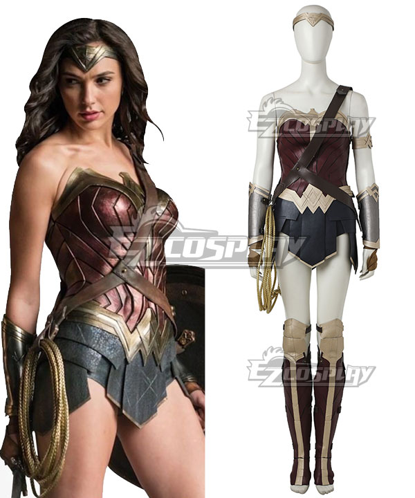 DC Comics Justice League Batman V Superman Dawn Of Justice Wonder Woman Diana Prince Cosplay Costume None