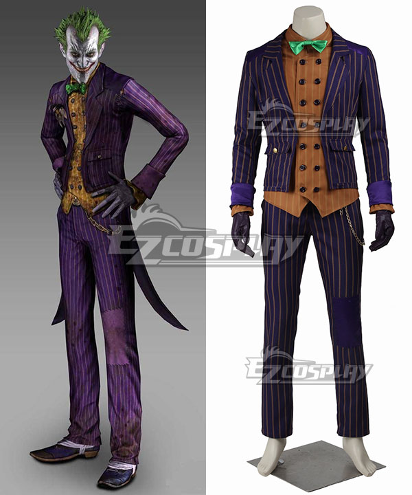 DC Detective Comics Batman Arkham Knight Joker Cosplay Costume None
