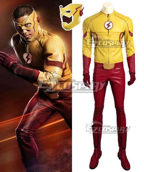 EDCG066 DC Detective Comics The Flash Season 3 Kid Flash Wallace Rudolph Wally West Cosplay Costume