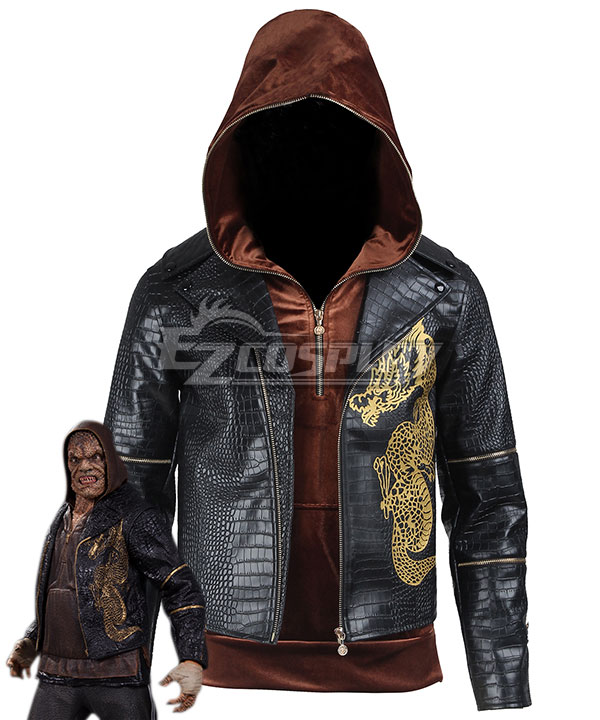 DC Batman Suicide Squad Task Force X Killer Croc Waylon Jones 2016 Movie Cosplay Costume None