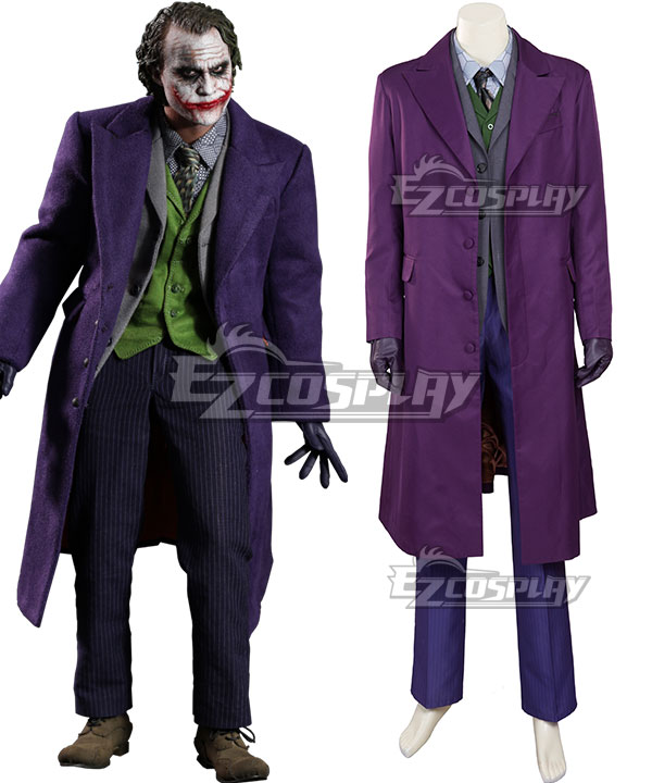 DC The Dark Knight Batman Joker A Cosplay Costume None