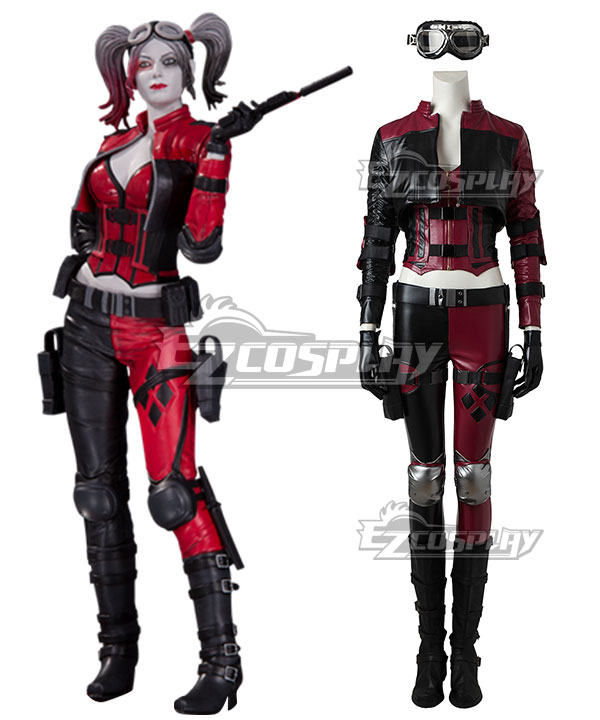 Anime Costumes EDCG145 DC Injustice 2 Harley Quinn Cosplay Costume (No Boot)