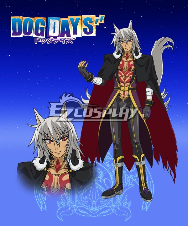 DOG DAYS'' Varerio Karubadosu Cosplay Costume