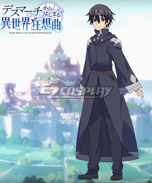 Death March to The Parallel World Rhapsody Death March kara Hajimaru Isekai Kyousoukyoku Satou Suzuki Ichirou Cosplay Costume