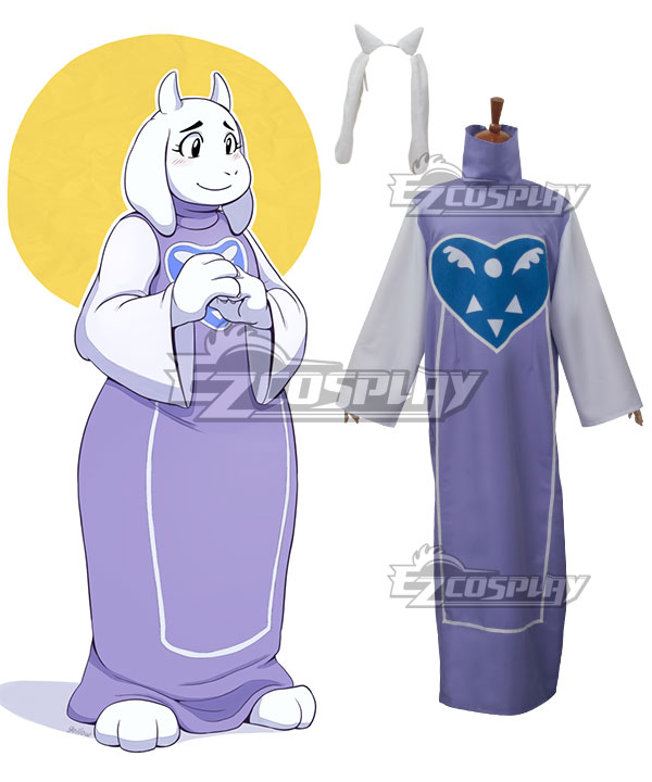 Undertale Boss Monster Toriel Cospaly Costume