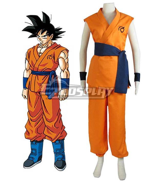 Dragon Ball Super Z Son Goku Kakarotto Cosplay Costume None