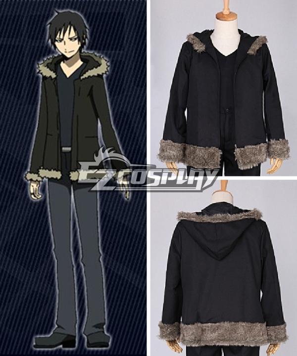 DuRaRaRa!! Orihara Izaya Black Cosplay Costume - Only Coat
