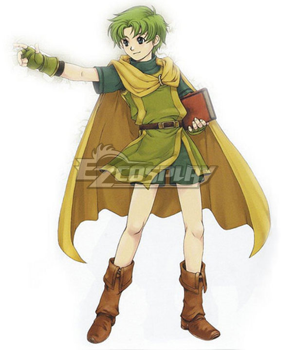 Anime Costumes EFEG036 Fire Emblem Binding Blade Lugh Cosplay Costume