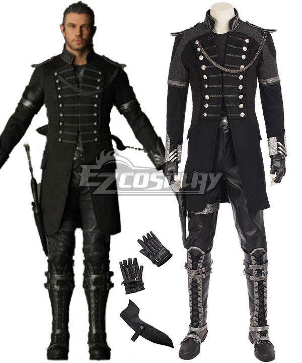 Kingsglaive: Final Fantasy XV FF15 Nyx Ulric Cosplay Costume - Including Boots None