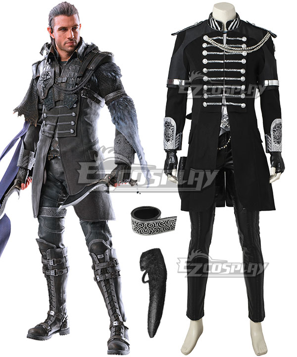Kingsglaive: Final Fantasy XV FF15 Nyx Ulric Cosplay Costume - No Boots and Premium Edition None