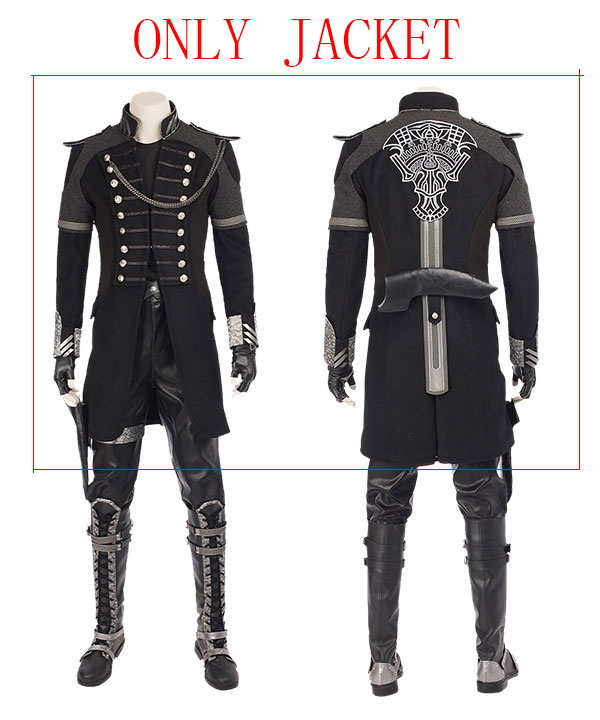 Kingsglaive: Final Fantasy XV FF15 Nyx Ulric Cosplay Costume - Jacket ONLY None