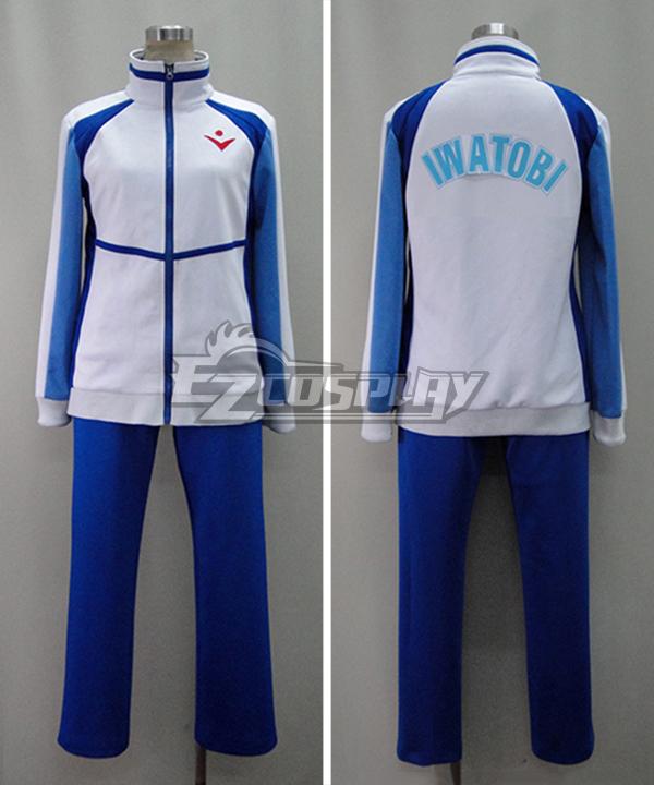 Free! Iwatobi High School Gym Suit Cosplay Costume