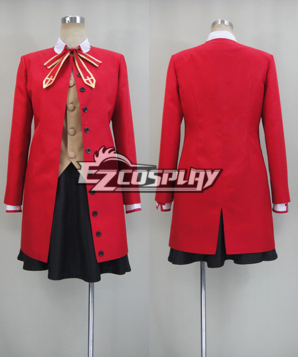 Fate Stay Night: Unlimited Blade Works UBW Rin Tohsaka Cosplay Costume None